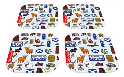 Selina-Jayne Scotland Limited Edition Designer Coaster Gift Set
